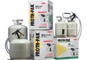 Froth-Pak Insulation Spray