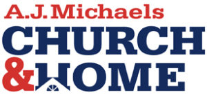 A.J. Michaels Church and Home Logo